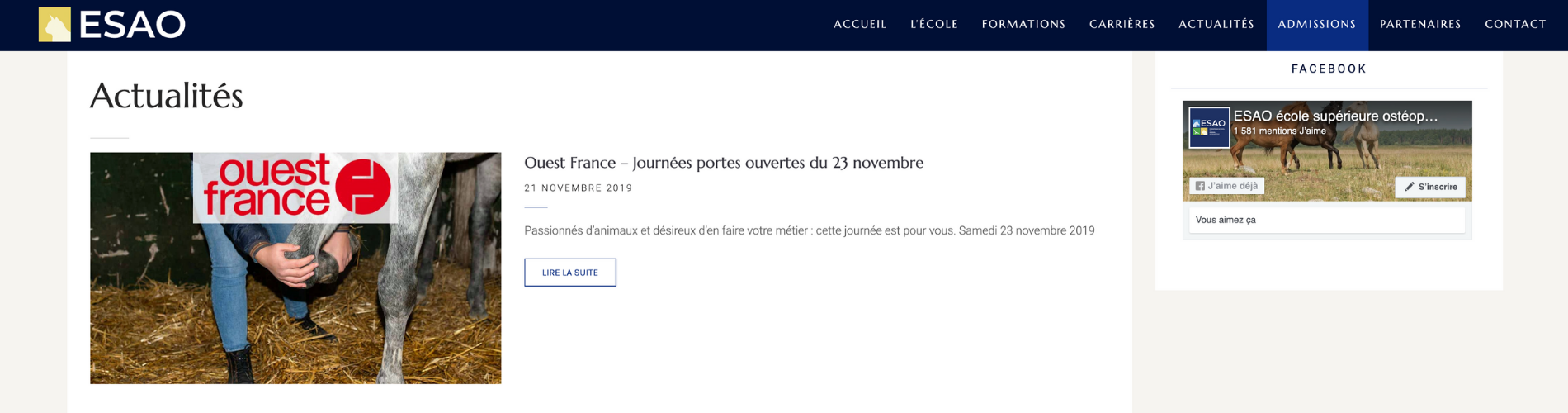 Screen Site ESAO 2