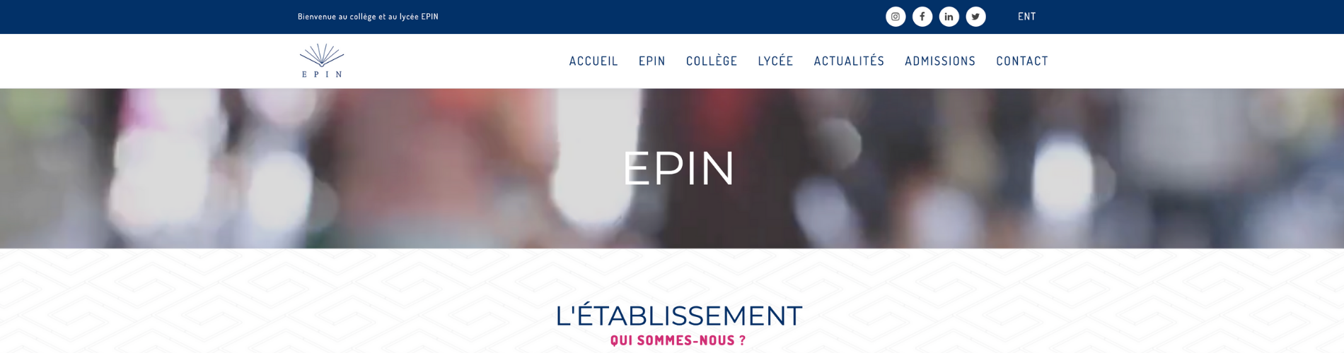 Screen site EPIN 1